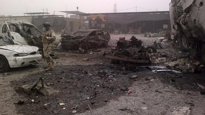 New violence surge across Iraq kills at least 70