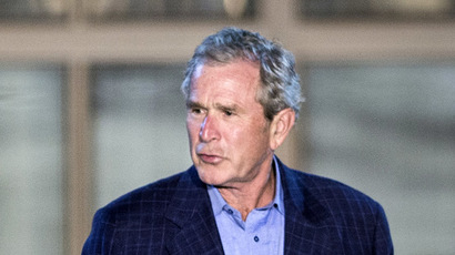 Former US President George W. Bush (AFP Photo/Brendan Smialowski)