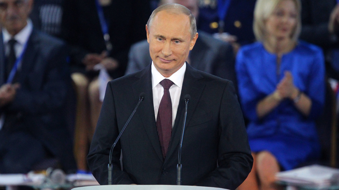 Putin agrees to head All-Russia People's Front