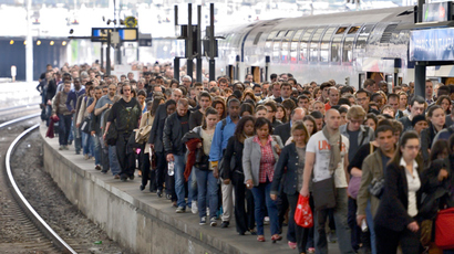 'Worst in years': France hit by nationwide train strike (PHOTOS)