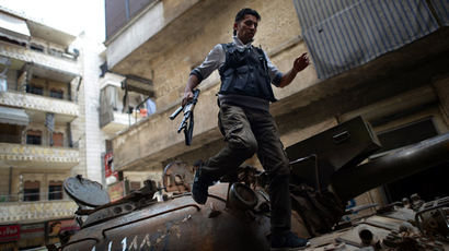 CIA starts arming Syrian rebels overtly