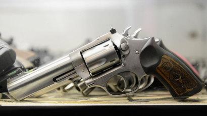 A Smith & Wesson .357 magnum revolver.(AFP Photo / Kevork Djansezian)