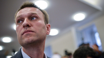 Blogger Alexei Navalny, Moscow Mayor candidate from the RPR-PARNAS party. (RIA Novosti/Vladimir Astapkovich)