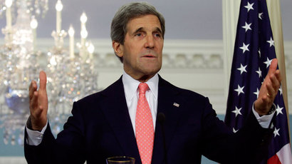 U.S. Secretary of State John Kerry.(Reuters / Yuri Gripas)