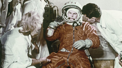 First woman-cosmonaut in the world Valentina Tereshkova.(RIA Novosti)