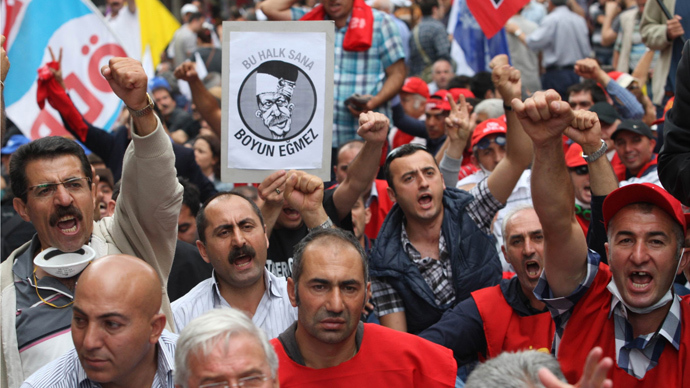 Turkey threatens to deploy Army against protesters, dubs unions strike 'illegal'
