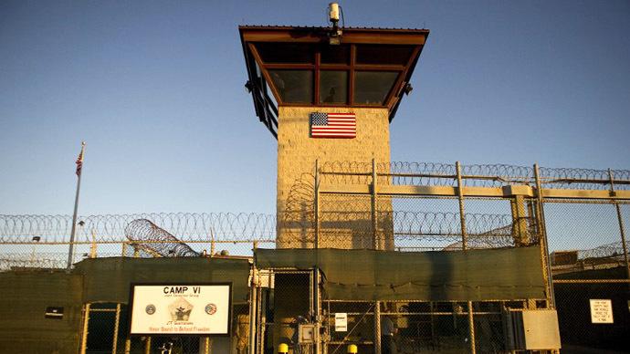 The U.S. Naval Base, in Guantanamo Bay, Cuba. (AFP Photo / Jim Watson)