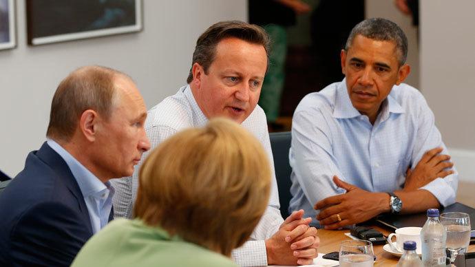 G8 leaders sign tax evasion declaration