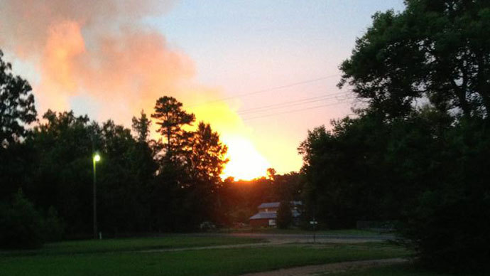 Gas pipeline rupture sparks major blast outside New Orleans