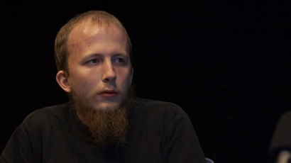 Gottfrid Svartholm Warg (Photo: The Pirate Bay Trial Images)
