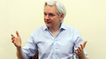 Wikileaks founder Julian Assange.(AFP Photo / Anthony Devlin)