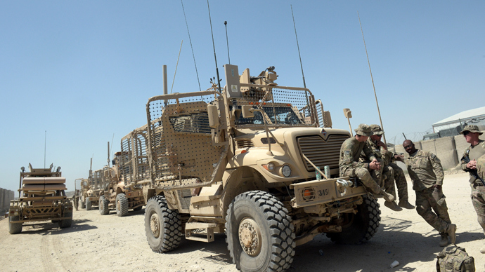 Operation Junkyard: US scrapping 'tons' of equipment as Afghan exit looms