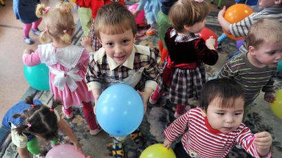 Children at the Vladivostok Orphanage. (RIA Novosti/Vladimir Pesnya)
