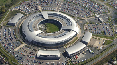 Britain's Government Communications Headquarters (GCHQ) in Cheltenham is seen in this undated handout aerial photograph  (Reuters)