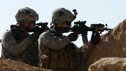 US Special Troops Battalion (Reuters / Peter Andrews)