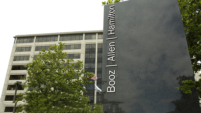 The Booz Allen Hamilton Holding Corp office (Reuters / Kevin Lamarque)