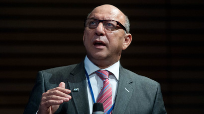 The World Bank and headed by South African planning minister Trevor Manuel (AFP Photo)