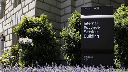 A general view of the Internal Revenue Service (IRS) Building in Washington (Reuters)