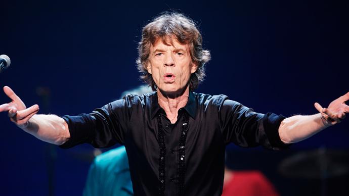 Mick Jagger (Reuters / John Gress)
