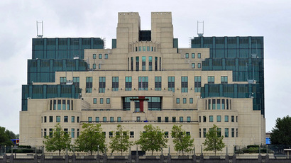 The MI6 building, which is the SIS (The Secret Intelligence Service) headquarter, is pictured at Vauxhall Cross in central London (Reuters/Toby Melville)
