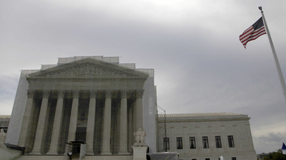 The U.S. Supreme Court building in Washington (Reuters)