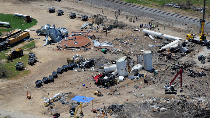 West, Texas sues owner of exploded fertilizer plant