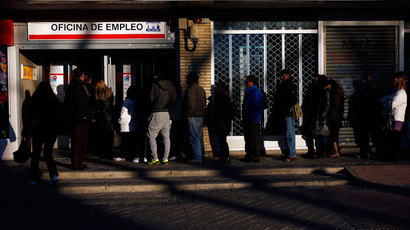 Over 19 million jobless as Eurozone unemployment hits record high
