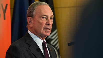 New York City Mayor Michael Bloomberg (AFP Photo / Andrew Burton)