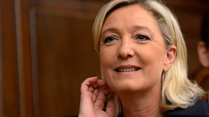 France's National Front leader Marine Le Pen (AFP Photo / Kirill Kudryavtsev)