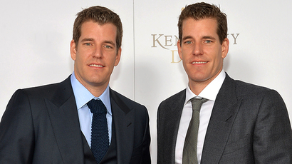 Tyler and Cameron Winklevoss (AFP Photo / Mike Coppola)
