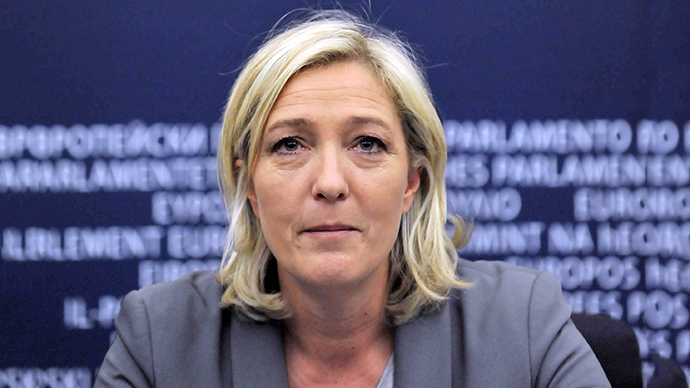 Marine Le Pen (AFP Photo / Georges Gobet)