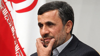 Iranian President Mahmoud Ahmadinejad.(AFP Photo / Atta Kenare)