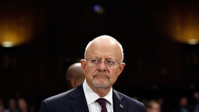 Director of National Intelligence James Clapper.(AFP Photo / Win McNamee)