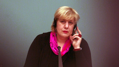 OSCE's Representative on Freedom of the Media, Dunja Mijatovic (AFP Photo)