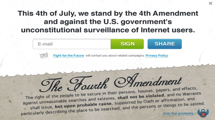 'Restore the Fourth': Reddit, Mozilla, thousands of people set for July 4 NSA spying protest