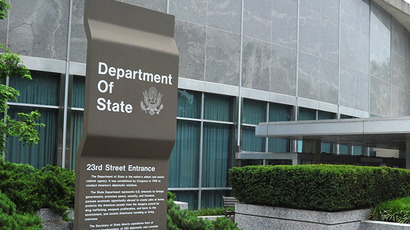 US State Department, Washington, DC. (AFP Photo / Karen Bleier)