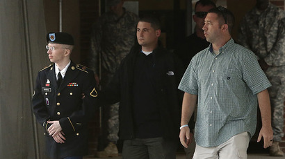U.S. Army Private First Class Bradley Manning (Reuters /  Jonathan Ernst)