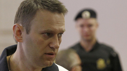 Opposition blogger Navalny registered as a candidate in Moscow mayoral race