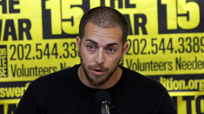Adam Kokesh (AFP Photo/Tim Sloan)