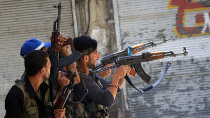 Free Syrian Army fighters (AFP Photo/Phil Moore)