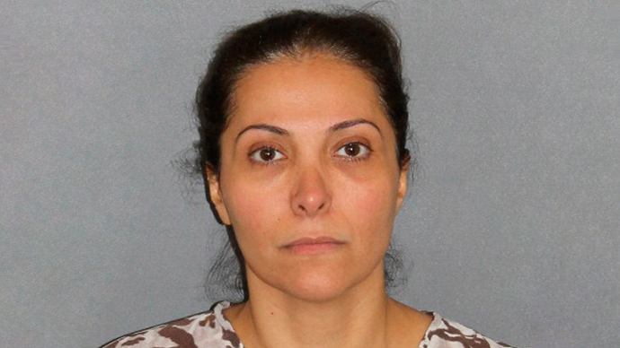 Meshael Alayban, 42, a Saudi Arabian princess, is seen in this undated booking photo released by the Irvine, California, police department July 11, 2013 (Reuters / Irvine Police Department)