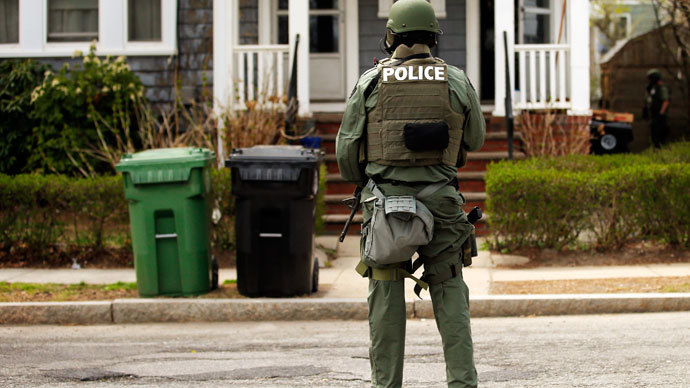 Boston police officer arrested after bombs and explosives found inside home