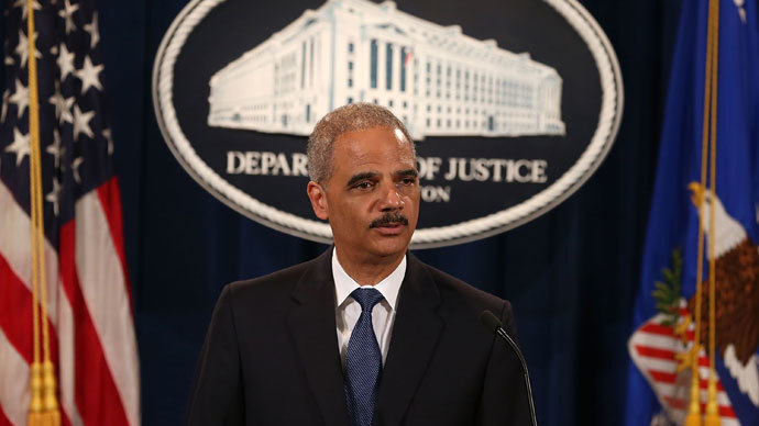 U.S. Attorney General Eric Holder.(AFP Photo / Mark Wilson)