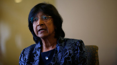 U.N. High Commissioner for Human Rights Navi Pillay.(Reuters / Susana Vera)
