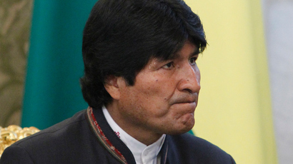 Bolivian President Evo Morales (AFP Photo)