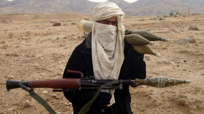 A Taliban fighter (Reuters / Stringer)