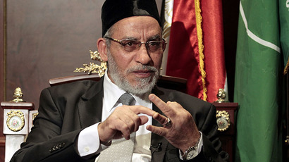 Muslim Brotherhood leader Mohamed Badie (Reuters / Mohamed Abd El Ghany)