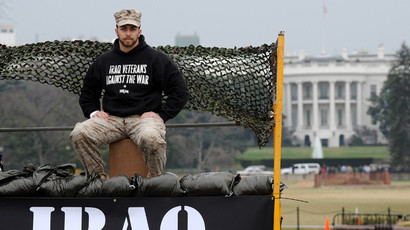 Adam Kokesh (AFP Photo / Tim Sloan)