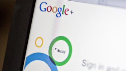 Users are often signed up to Google+ without consent (AFP Photo / Nicholas Kamm)