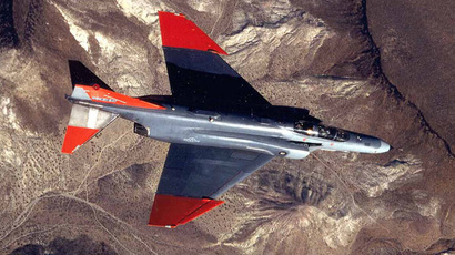 QF-4 Drone (Photo from www.af.mil). Video courtesy: RUPTLY.